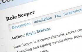 Role Scoper